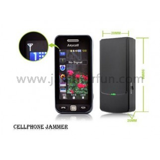 GSM Jammer For Sale - Latest Mini Broad Spectrum Cell Phone Jammer