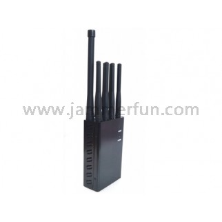 Antijammer - Multi-band Portable Jammer to disable cell phone, PCS, 3G,4G, 4G LTE,4G and GPS