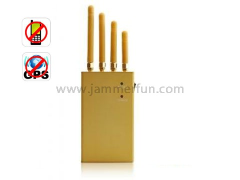 Extreme Cool Edition High Power Signal Jamming Device for GPS + Cell Phone + 3G