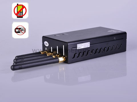 12 Antennas Mobile Phone Jammer - High Power Multifunctional Jammers - Mobile Phone Jammer and Wifi Jammer