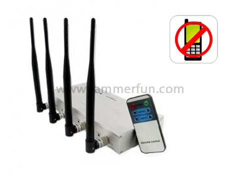 phone jammer device - High Top Signal Jammer - Cell Phone Jammer with Remote Control
