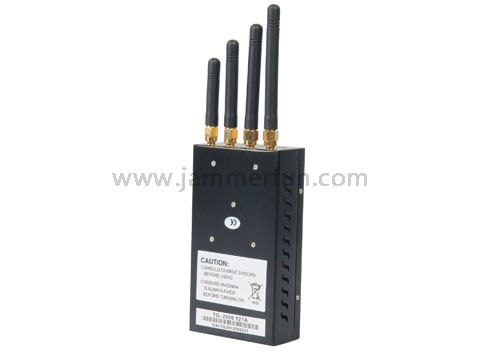 Handheld Signal Blocker - Handheld Portable Cell Phone Blocker - High Quality Mobile Phone 3G Wifi Signal Jammer For Sale (TG-121A)