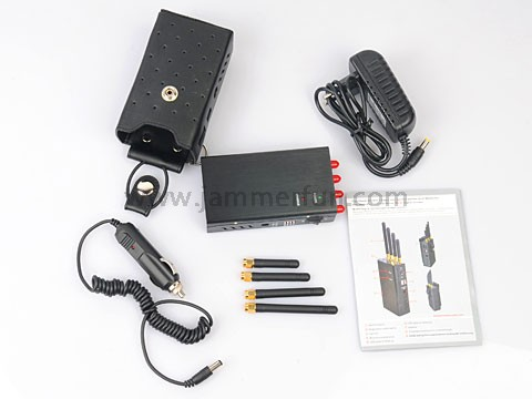 Block cell service | Handheld Cell Phone & WiFi & GPS Jammer