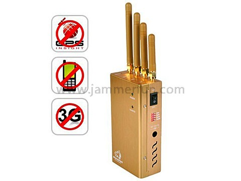 car remote jammer - Portable Cell Phone Jammer For Sale - High Quality Handheld Mobile Phone GPS 3G Signal Jammer (TG-121D)