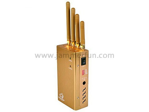wireless microphone jammer bus