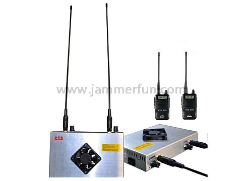 mobile phone signal Jammer Sales - High Power 24V 30W UHF VHF Jammer - UHF VHF Walkie Talkie Jammer Lo-Jack Blocker Immobilizer