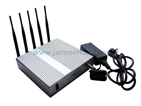 phone jammers china grove - Latest High Power 12W 4G LTE Cell Phone Wifi Signal Jammer Blocker With Remote Control