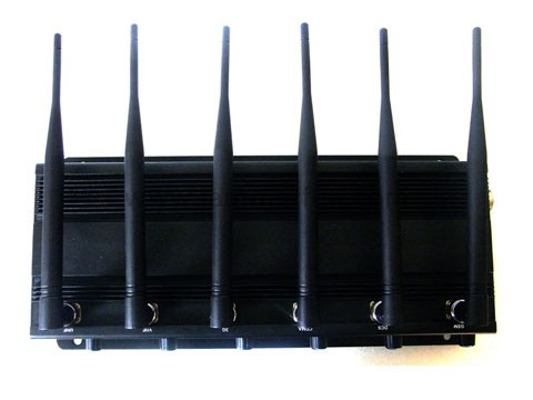 Cell phone jammer for sale - Adjustable Desk High Power 6 Band 4G (4G LTE + 4G Wimax) 3G Wifi Mobile Cell Phone Jammer Kit For Sale