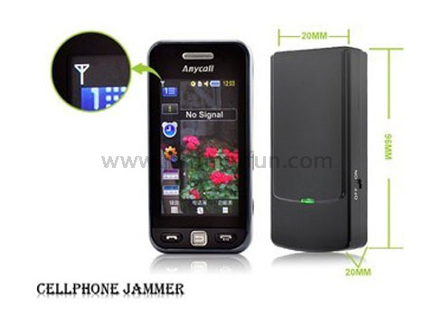 GSM Jammer For Sale - Latest Mini Broad Spectrum Cell Phone Jammer UK GSM 3G DCS (European Version)