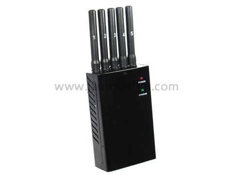 Latest Hand Held Portable High Power GSM DCS PCS CDMA 3G Cell Phone Wifi GPS Multifunction Jammer Blocker
