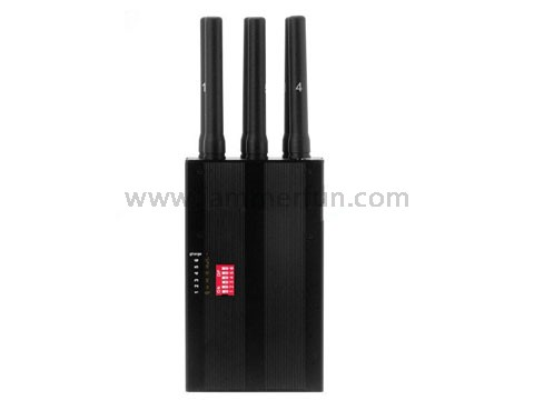 Latest Portable Hand Held Selectable 2G 3G 4G Cell Phone Jammer + Wifi Signal Blocker (US version)