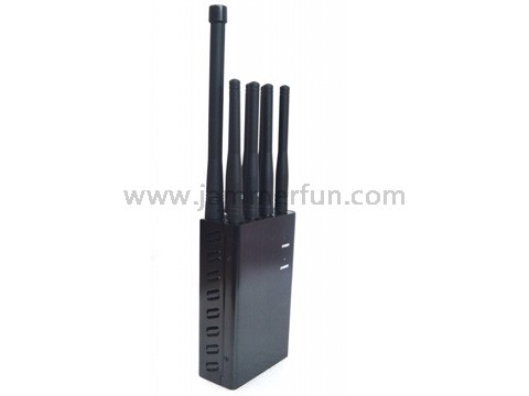 Buy Selectable Portable 3G 4G Cell Phone Jammer - Wifi GSM GPS Lojack Anti Jammer For Sale