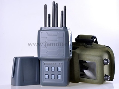All-in-one Hidden Style Portable Handheld Selectable 2G 3G 4G Cell Phone GPS Signal Jammer For Sale
