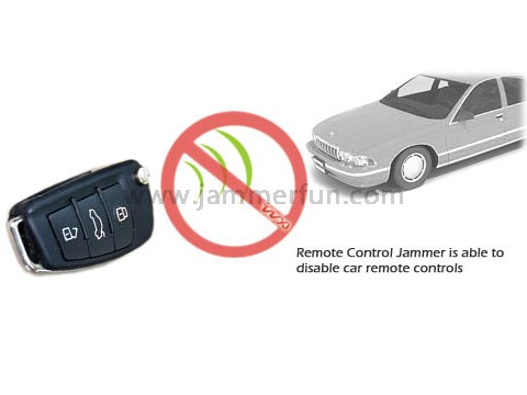 Car cell phone jammer - 433MHz Car Remote Control Jammer