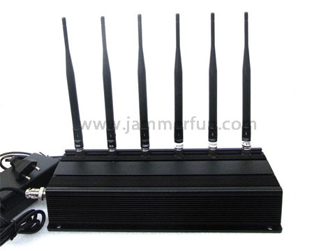 phone jammer kit installation - High Power 6 Antenna Cell phone Jammer - RF Jammer (315MHz/433MHz)
