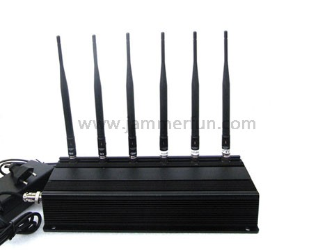cell phone jammer dealextreme - Most Powerful Portable 6 Antenna Cell Phone GPS RF Jammer - Jammer Blocker For Sale