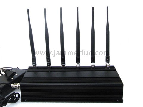 vehicle cell phone signal blocker - Complete Functions Top Power 6 Antenna Cell phone WiFi RF Signal Jammer - Jammer Wholesale China