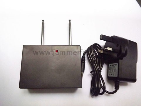Powerful 315MHz 433MHz Dual Band Car Remote Control Jammer With 50 Meters Jamming Radius