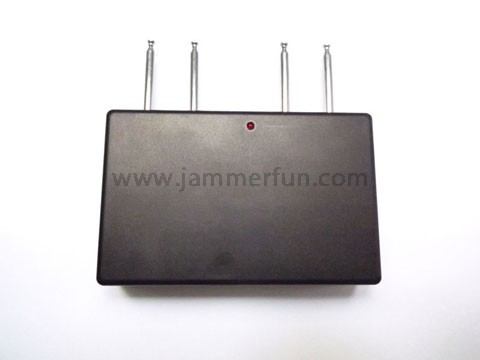 Portable RF jammer For Sale - Quad Band Car Remote Control Jammer (310MHZ/ 330MHz/ 390MHZ/418MHz)