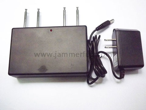 3g, 4g jammer - Frequency Jamming Device - Quad Band Car Remote Control Jammer (315MHZ/ 330MHz/ 390MHZ/433MHz)