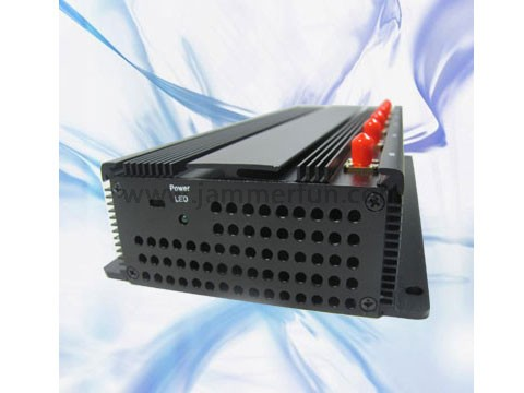 secure your phone - Jammer Pro High Power 6 Antennas GPS WiFi VHF UHF Cell Phone Signal Jammer Kit For Sale