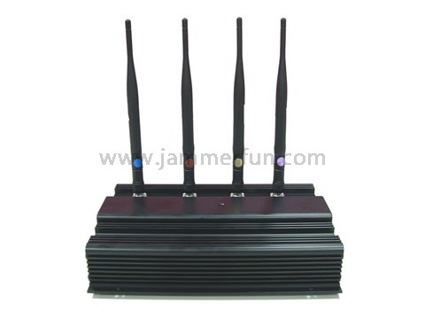14 Antennas Cell Phone Scrambler - Extreme Cool Edition High Power UHF/VHF Jammer - Cheap UHF VHF Blocker