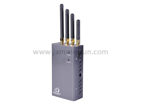 Portable Wireless Bug Camera Audio Jammer - Bluetooth/WIFI Wireless Spy Camera Blocker
