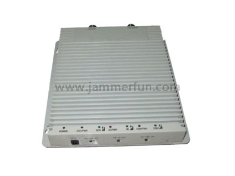against mobile phones - Multifunctional Tri-Band GSM900 DCS1800 WCDMA2100 Cell Phone Signal Booster Amplifier Repeater