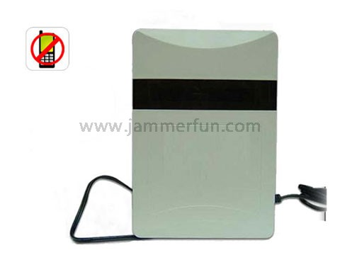 5 Bands Blocker 60 Meters - Portable Mobile Phone Signal Blocker - GSM CDMA DCS PHS 3G Cell Phone Signal Jammer 15 Meters