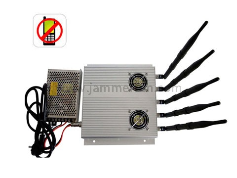 12 Bands Cell Phone Jamming - Pro Jamming Kit - High Power 3G Cell phone Jammer with Outer Detachable Power Supply