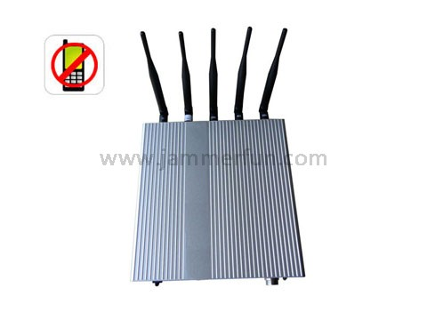 cell phone jammer Chile - Pro Mobile Signal Jammer - 5 Antenna Cell Phone jammer(3G,GSM,CDMA,DCS,PHS)