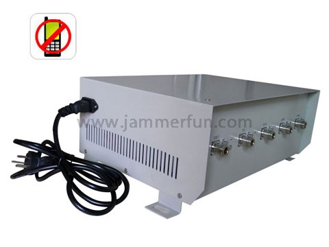 cell phone jamming software - 5 Band 70W Most Powerful In The World 3G Cell Phone Signal Jammer (Up To 100 Meters)