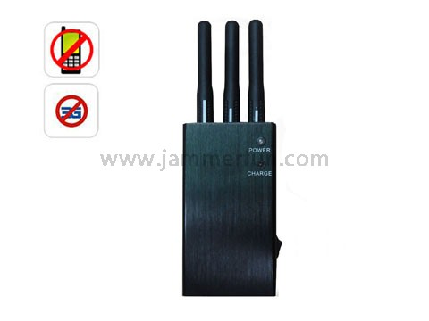 Block cellular signal - Mini 3G CDMA GSM DCS PCS Cellphone Signal Blocker - Portable Jammer