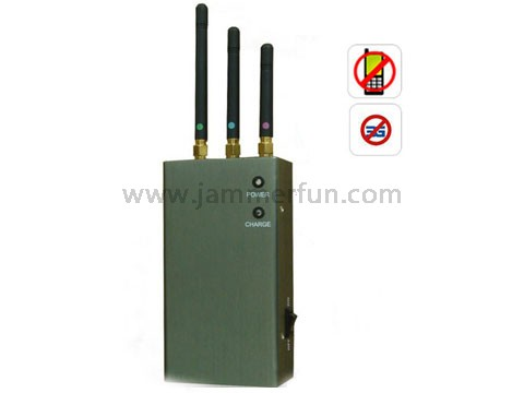 cell jammer 4 g - Jammer Signal Equipment - 5 Bands Portable Cell Phone Signal Blocker Jammer