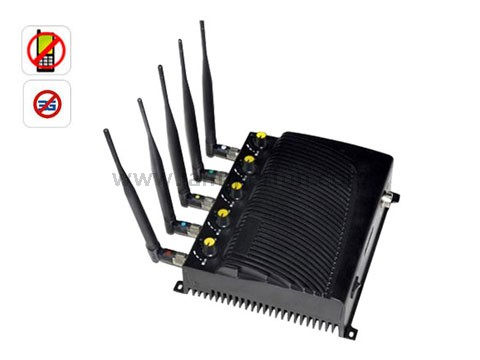cellular blocker jammer - Most Powerful Adjustable High Quality 3G Cell Phone Signal Jammer Blocker