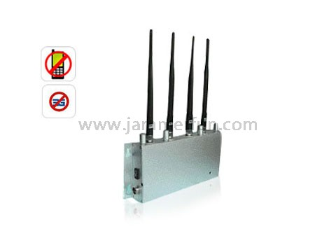 Signal blocker Bowen - High Power GSM CDMA DSC 3G Cell Phone Signal Jammer - Signal Jamming Kit