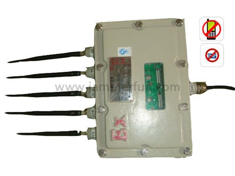 High Power Explosion Proof Type Mobile Phone Signal Jammer For Security Protection