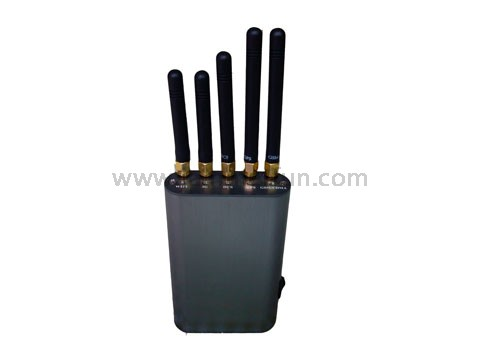 Jammer orintas , Portable Handheld Cell Phone + WiFi + GPS Signal Jammer Up To 8 Meters