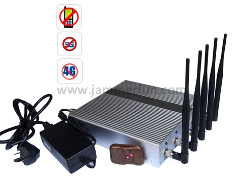 phone gsm jammer emp - Hot New Most Powerful 12W 3G 4G LTE Cell Phone Signal Jammer with Remote Control