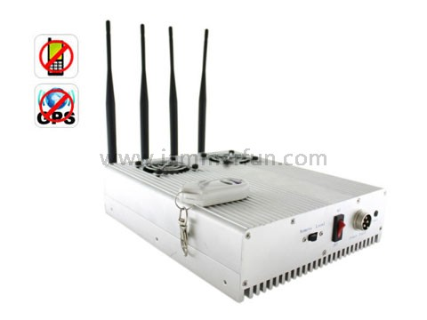 gsm mobile jammer truck , Extreme Cool Edition High Power Desktop GPS Cell Phone Signal Jammer Blocker Isolator