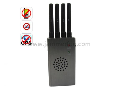 jammer cell - Portable High Power GPS and Cell Phone Signal Jammer(CDMA GSM DCS PCS 3G)