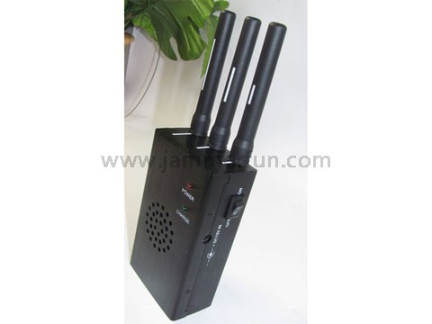 Build a mobile phone jammer   High Power Portable GPS and CDMA GSM DCS PCS Phone Signal Jammer Isolator