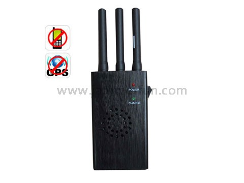 buy your cell phone - High Power Portable GPS and CDMA GSM DCS PCS Phone Signal Jammer Isolator