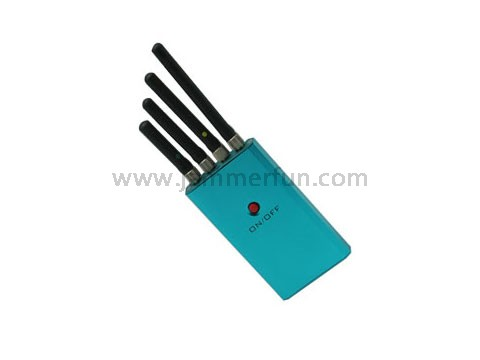 S-cell phone and gps jammers cherry - Portable Mini Medium Power Cellphone Jammer With 4 Omnidirectional Antennas