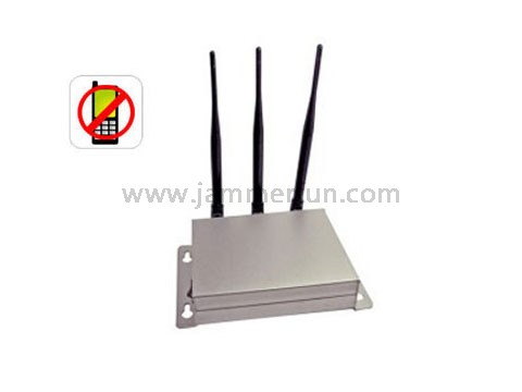 Cell phone jammer antenna , High Power More Advanced Cell Phone 3G Signal Jammer With 20 Meter Range