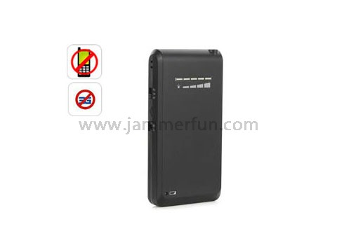 New Style Mini Portable Cellphone Signal Jammer - Broad Spectrum Phone Jammer