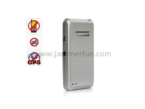 New Mini Portable Cellphone Signal Jammer + Portable GPS Signal Jammer Blocker