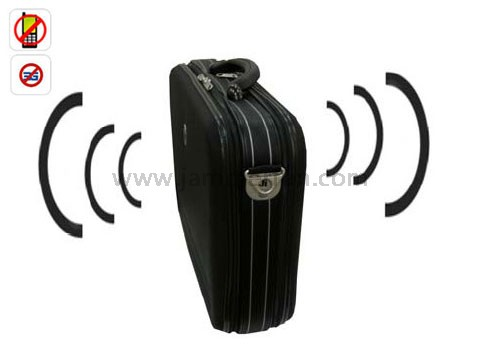 cell phone jammer blocker - Portable Cell Phone Jammer (Middle RF power jammer +Handbag design) For VIP People