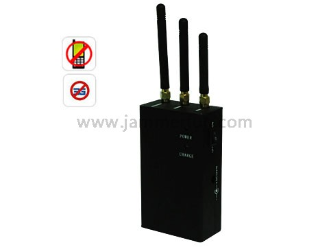 Buy China Portable High Power Cell Phone Signal Jammer(CDMA GSM DCS PCS 3G) 15 Meter