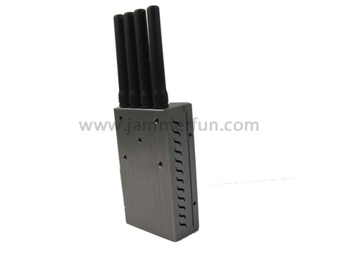 2.4ghz jammer , Portable High Power Wi-Fi Cell Phone Signal Jammer with Fan (CDMA GSM DCS PCS 3G Wifi) For Sale
